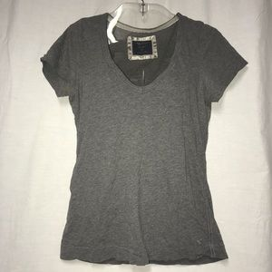 AEO Favorite Tee Size Large Gray